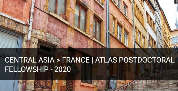 Atlas Postdoctoral Fellowship 2020