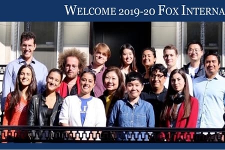 2020 Fox International Fellowship Graduate Student Exchange Program in United States