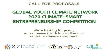 GYCN 2020 Climate Smart Entrepreneurship Competition