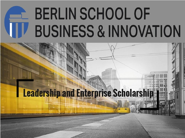 Leadership and Enterprise Scholarship at Berlin School of Business and Innovation