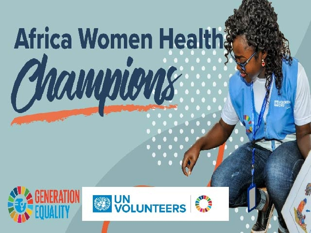 WHO/UN Volunteers Africa Women Health Champions 2020 for Middle Women and Career Professionals