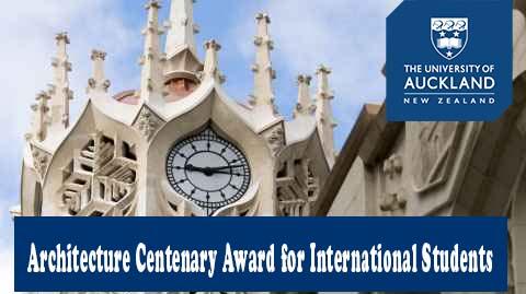 University of Auckland Architecture Centenary Award 2020
