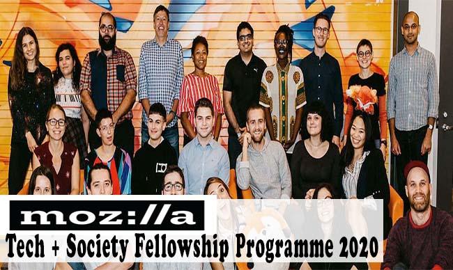 Mozilla Tech + Society Fellowship Programme 2020