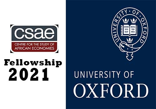 Centre for the Study of African Economies CSAE Visiting Fellowship 2021