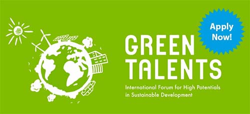 Green Talents Award 2020 for Young International Researchers