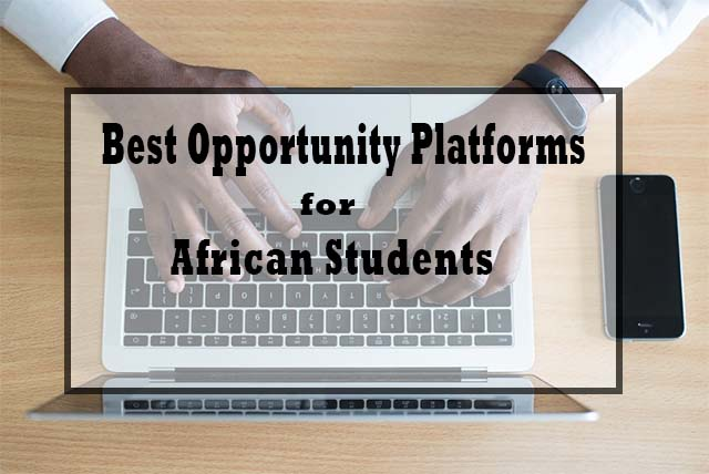 Opportunity Platforms for African Students