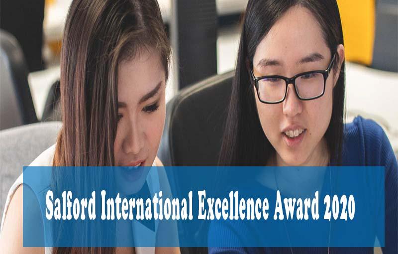 Salford International Excellence Award 2020