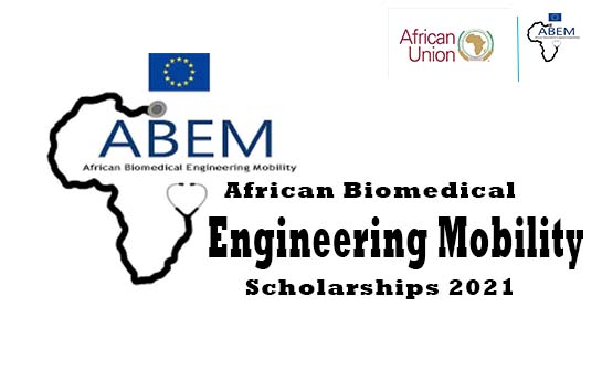 African Biomedical Engineering Mobility (ABEM) Scholarships 2021