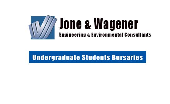 Jones & Wagener Bursary Scheme 2020/2021 for Undergraduate Students