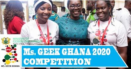 Ms. Geek Ghana 2020 Competition