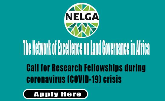 DAAD/NELGA Research Fellowships on COVID-19 Crisis