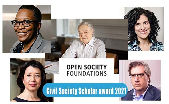 Open Society Scholar Awards 2020/2021