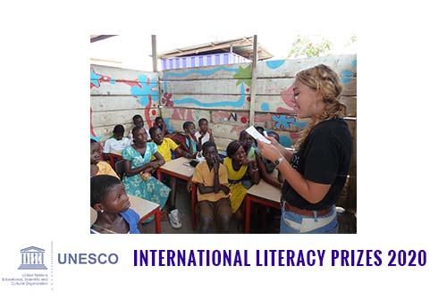 UNESCO International Literacy Prizes 2020 for Laureate
