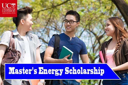 University of Canterbury Orion Master's Energy International Scholarship