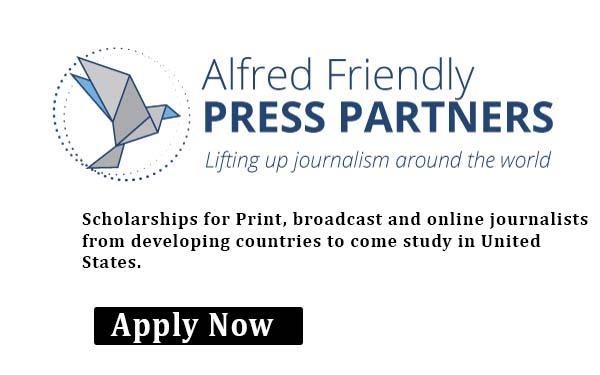 Alfred Friendly Press Partners Fellowship