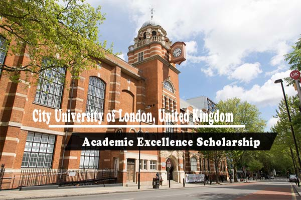 City University of London Academic Excellence Scholarship in UK