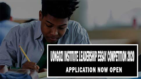 UONGOZI Institute Leadership Essay Competition 2020