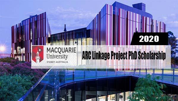 ARC Linkage Project PhD Scholarship at Macquarie University