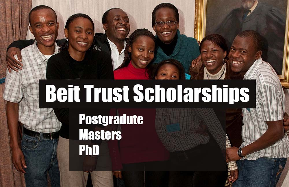 Beit Trust Masters and PhD (Postgraduate) Scholarships