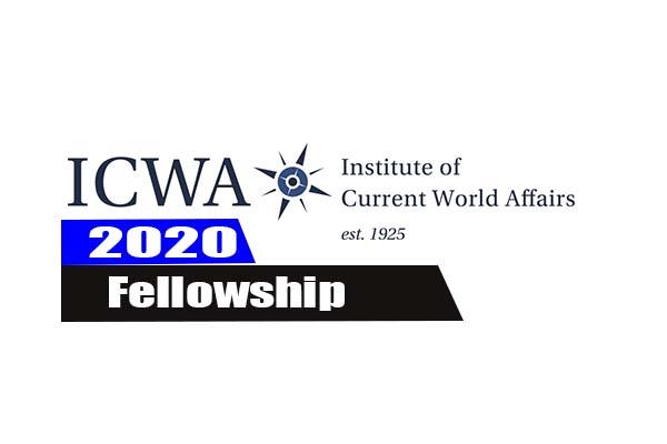 2020 ICWA Fellowship Programme