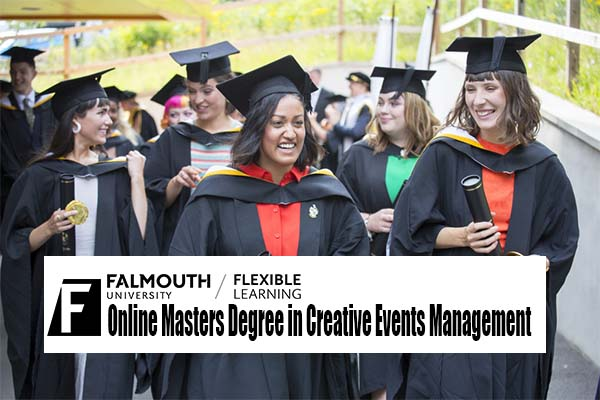 Online Masters Degree in Creative Events Management at Falmouth University