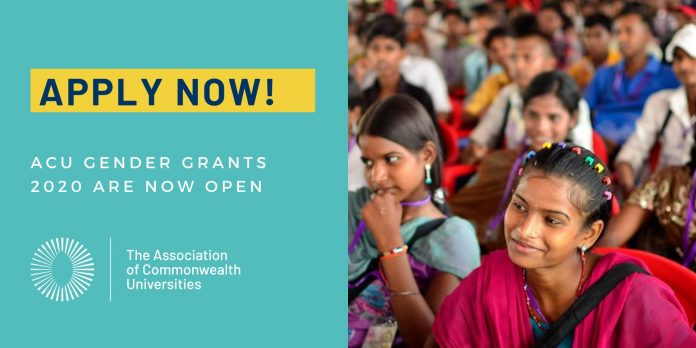 ACU Gender Grants