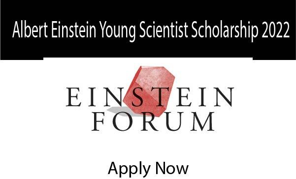 Albert Einstein Young Scientist Scholarship 2022