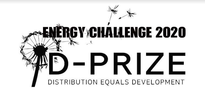 D-Prize Solar Lamp Energy Challenge 2020/2021