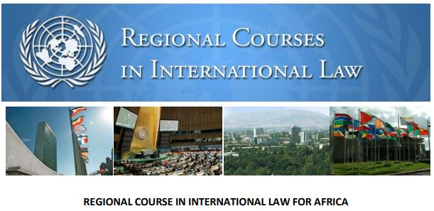 2021 United Nations Regional Course in International Law Programme for Africa