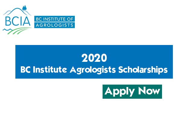 BC Institute of Agrologists Scholarship 2020