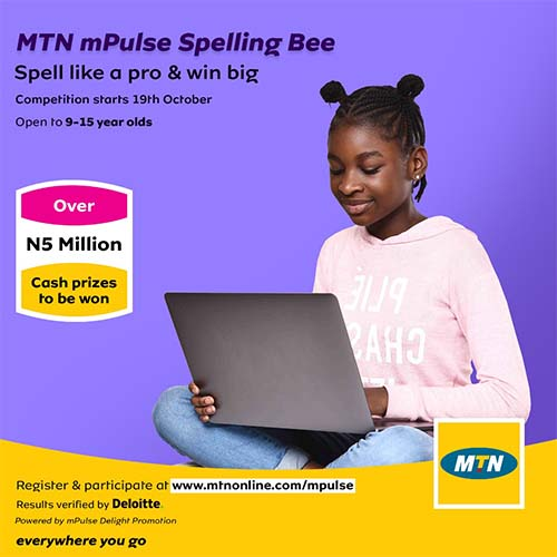 MTN Nigeria mPulse Spelling Bee Competition 2020
