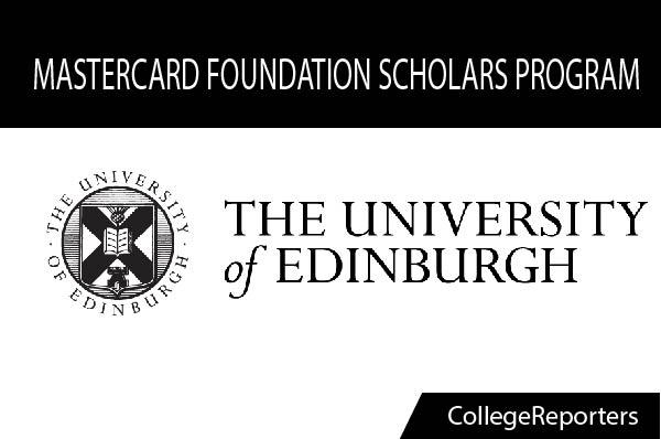 University of Edinburgh MasterCard Foundation Postgraduate ...