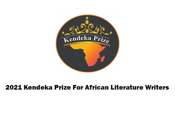 Kendeka Prize for African Literature 2021 Call For Submission