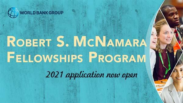 World Bank Robert S. McNamara Fellowships Program